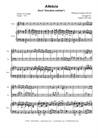 Alleluia (from 'Exsultate, Jubilate' - Duet for Violin and Cello)
